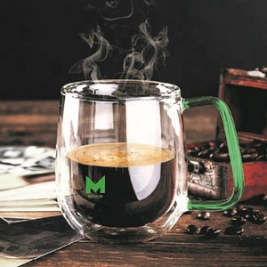 【MOUVE】捷克波波雙層經典杯綠色