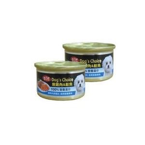 BELICOM 倍力康 嫩雞肉+鮭魚 小狗罐80G x 24入