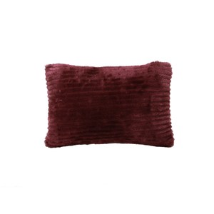 HOLA 斐麗抱枕30x45cm 毛絨星幻紫