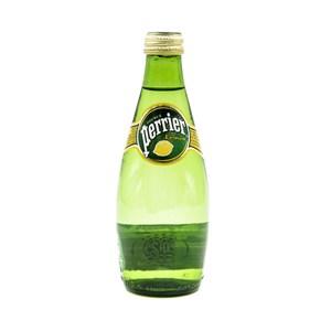法國沛綠雅氣泡天然礦泉水檸檬330ml