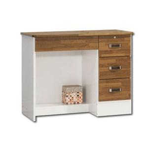 【YFS】波頓自然風3尺書桌下座-91x54x73cm(兩色可選)胡桃