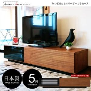 【MODERN DECO】Thomas湯瑪士日系簡約日本進口五尺電視櫃原木色
