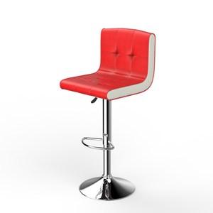 喬維奇造型吧台椅-紅