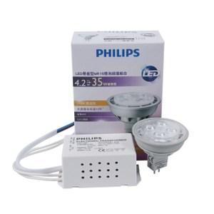 飛利浦LED易省型MR16 杯燈 4W 黃光(110V)