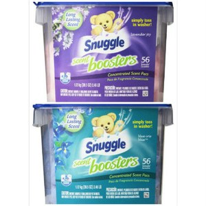 美國 Snuggle 衣物柔軟芳香球-薰衣草+鳶尾花(1120g)*2