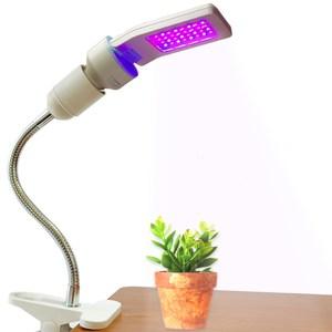 D'diosas 3D平板LED植物燈夾燈組(燈泡x1+夾燈座x1)