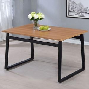 Homelike 凡妮莎工業風4.3尺餐桌