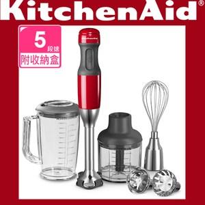 【KitchenAid】手持料理棒專業版(經典紅)