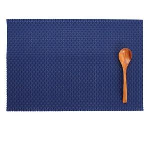 LOVEL 歐美風手作編織感餐墊 經典寶藍(1入組)