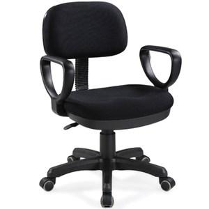 aaronation愛倫國度 久座專用型辦公電腦椅-晶鑽黑