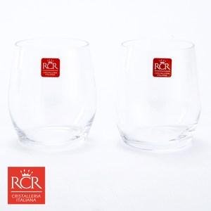 義大利 RCR 無鉛水晶威士忌杯 2入 混款隨機 LUXION系列
