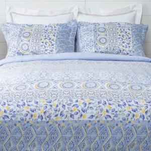 HOLA 瀾光天絲床包兩用被組 雙人