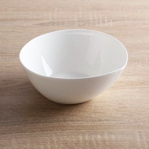 HOLA home 人魚線骨瓷麵碗9吋