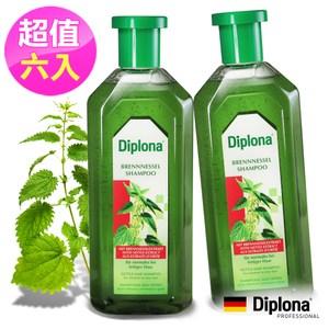 德國Diplona植萃大蕁麻養護洗髮精500mlx6入組 不含矽靈