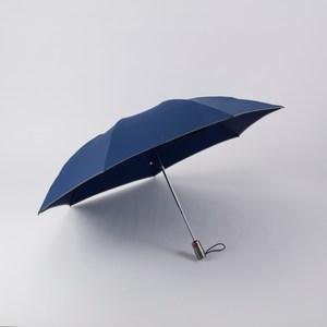 創新反向自動開收傘-奈米超潑水布(深藍)