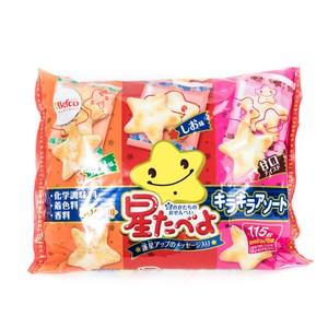 日本栗山閃亮星星綜合米果組合包115g