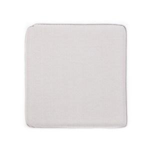 HOLA 素色記憶棉坐墊40x40x4cm 銀灰色