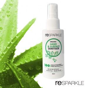 【澳洲reSPARKLE】綠思寶-隨身免沖洗抗菌噴霧60ml(乾洗手)