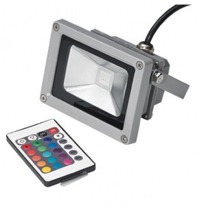 10W LED七彩變色投射燈(附遙控器)