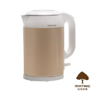 松木 MATRIC 喝的安心雙層防燙不鏽鋼快煮壺 MG-KT1505D
