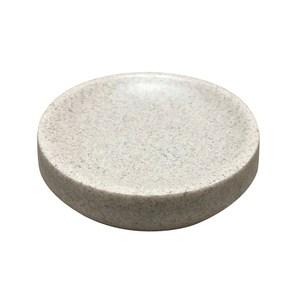 HOLA 自然仿沙岩圓錐形衛浴肥皂盤
