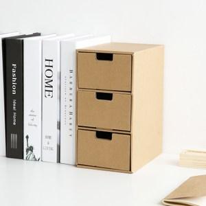 創意抽屜式收納盒-3格