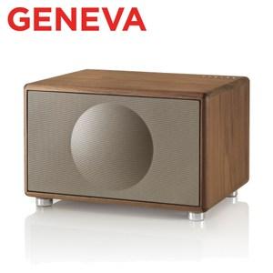 Geneva Classic M HIFI 藍牙鬧鐘收音機喇叭棕色