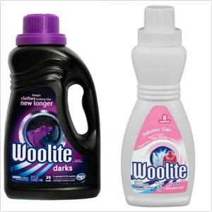 美國 Woolite濃縮冷洗精-深色衣物(50oz)*+毛料專用(16oz)*2