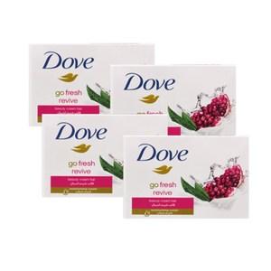 德國DOVE乳霜潔膚香皂-石榴馬鞭草(100g*4/組)*8