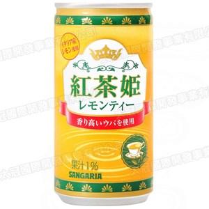 日本sangaria紅茶姬 檸檬茶190g