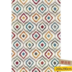 蓋亞雙股紗地毯200x290cm摩洛哥