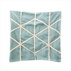 現代幾何抱枕套45x45cm 綠