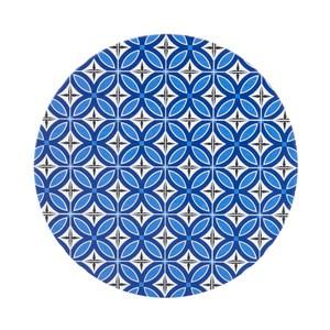 自然風陶瓷鍋墊-花磚圓圈
