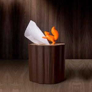 QUALY|松鼠愛森林-捲筒衛生紙盒