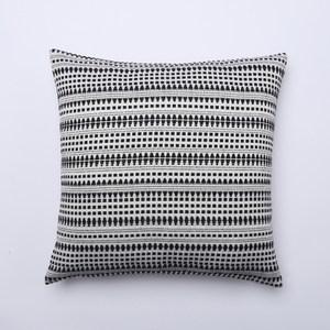 銀河抱枕套-線紋白45x45cm