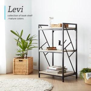 【obis】里歐工業風個性三層3.8尺書架如商品封面