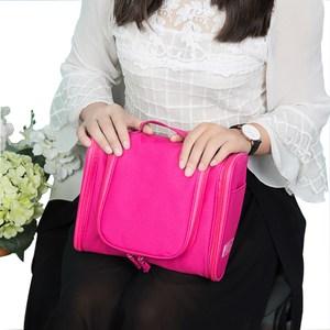 PUSH!旅遊用品防水旅遊洗漱包化妝包旅行盥洗收納袋玫紅S54玫紅
