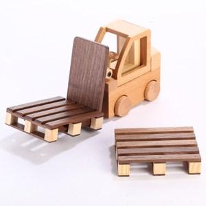 木匠兄妹 Carpenter 堆高機杯墊手機座 型號_0611-000502