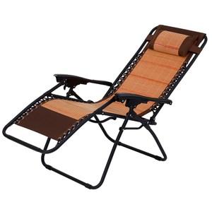 新格林天然竹墊無段式仰躺椅
