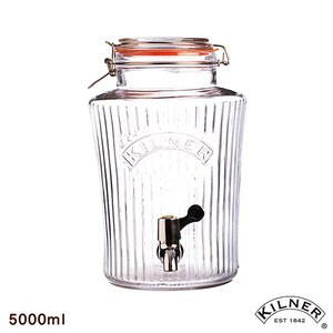 【KILNER】復古派對野餐飲料桶 5L