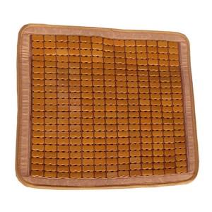 經典碳化棉繩麻將竹坐墊 單人