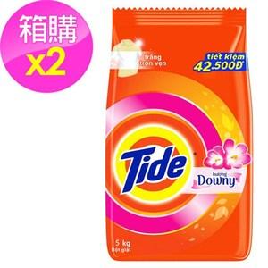 Tide 洗衣粉-含Downy/2入箱購(5kg*2)