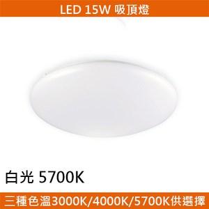 HONEY COMB LED 15W經典吸頂燈 白光 T04715