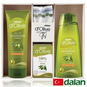【土耳其dalan】頂級橄欖油木製套裝禮盒