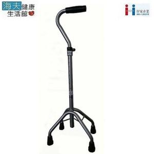 好家醫療用手杖【海夫】鋁合金 彎把手 高爪四腳拐(B203SI)
