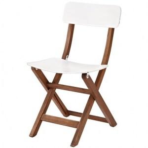 都市硬木摺疊椅