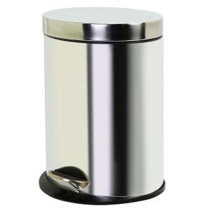踏式垃圾桶5L 鏡面