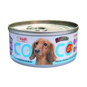 Co Co 聖萊西 機能狗罐 幼犬營養高鈣鮮雞肉80g X 48入