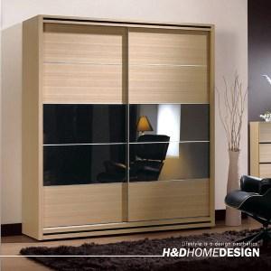 H&D 威爾斯5.2尺拉門衣櫥
