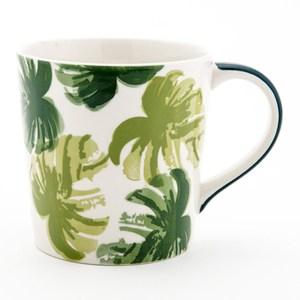 HOLA 綠森林馬克杯 400ml 芭蕉葉